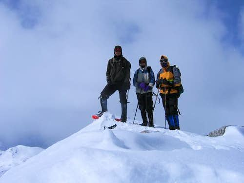 Summit shot on Mt. Yale,...