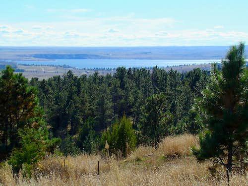 Angostura Reservoir View