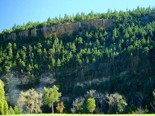 Maverick Mountain North Wall
