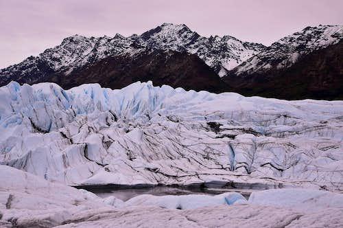 Matanuska Glacier, Chugach Mountains