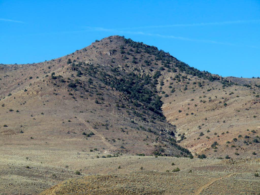 Katy Peak 6,120' from US 50