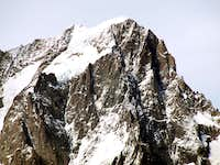 Tête  d Arpy Grandes Jorasses from Southeast 2015