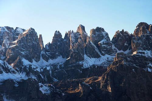 The towers of Brenta