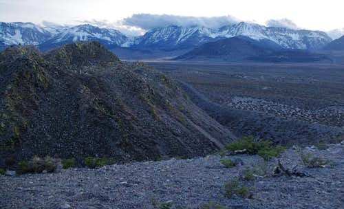 Sierra From Panum Crater