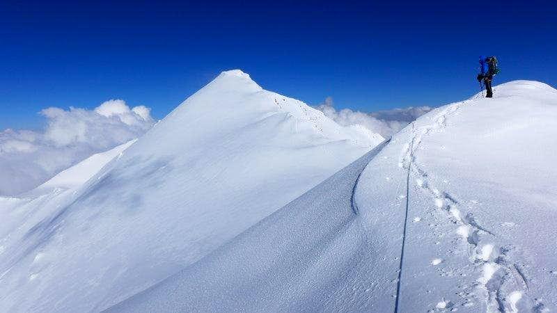 Kurumdy summit from west