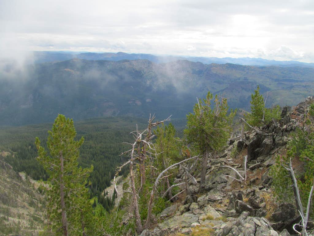 Salmon River Mtns from Patty