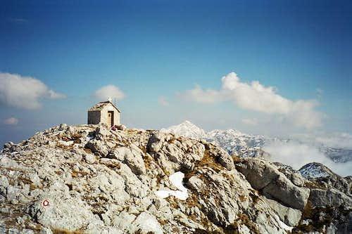 chapel of sv ilija and sv...
