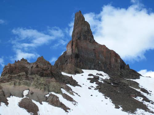 Coxcomb Peak from northeast