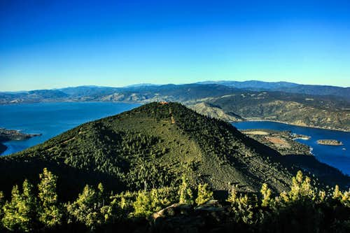 Views from Mount Konocti