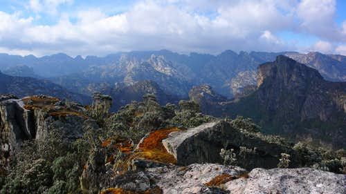 Splendid colors of the Rwenzori
