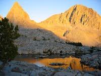 Isosceles Peak from Dusy...