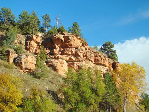 Fall River Canyon Wall