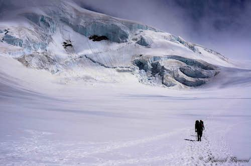 On the Lys glacier