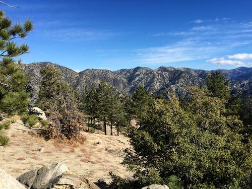 Northeastern San Gabriel Mountains from Winston Peak