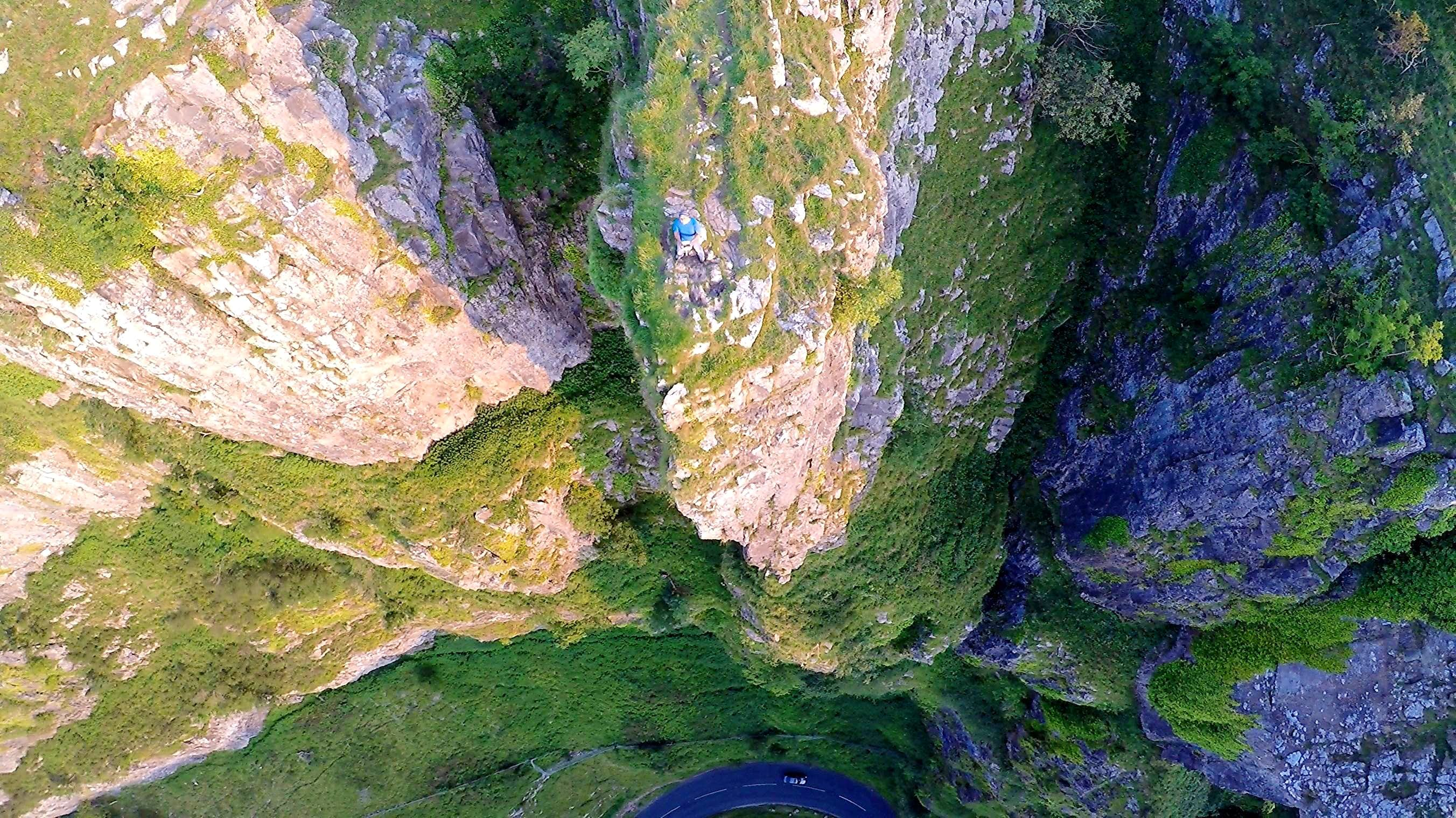 Thermal Flying ...an Eagle\'s eye view of Cheddar Gorge