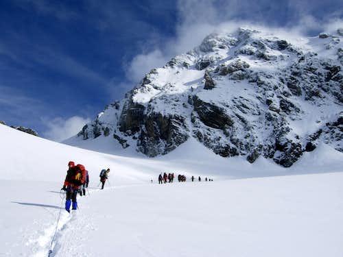 Cedèc glacier and Gran Zebrù