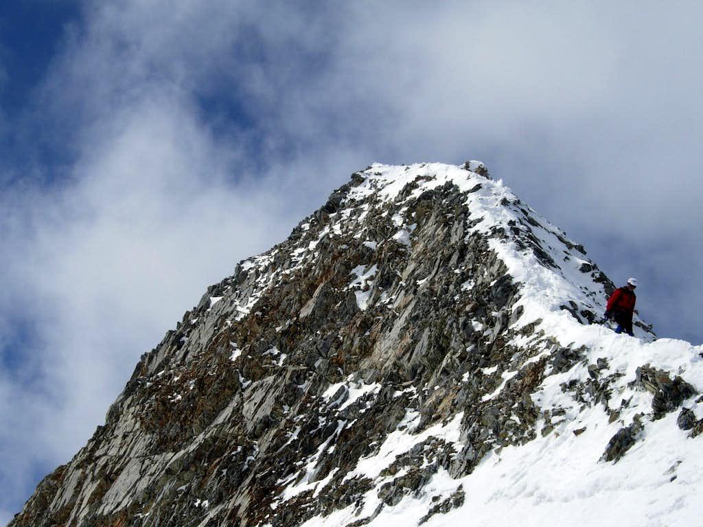 Cima Sud delle Pale Rosse summit ridge