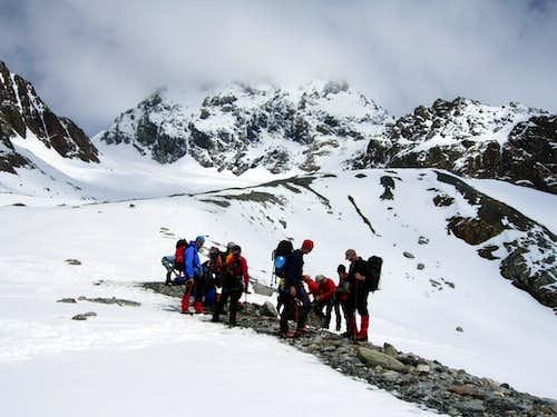 Start of the glacier