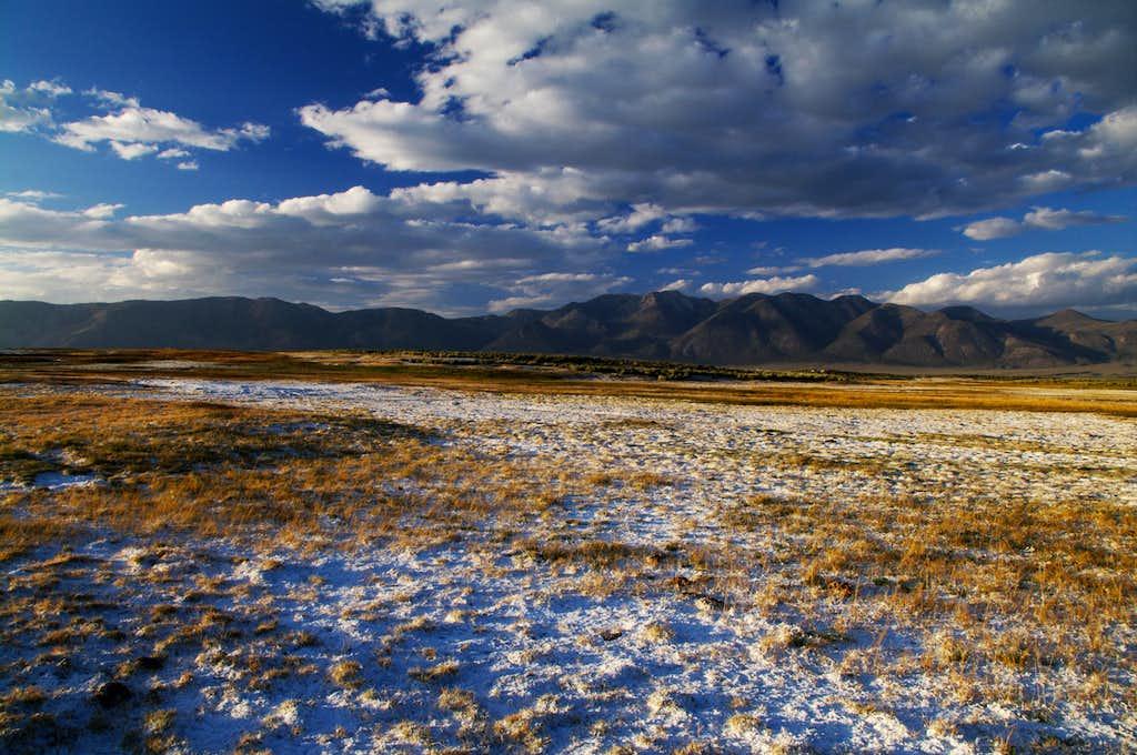 Glass Mountain From Long Valley Caldera