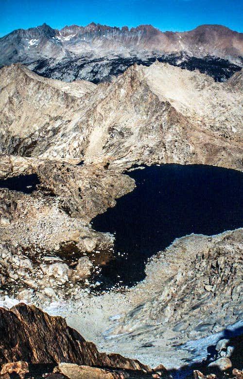 Kaweah Peaks from Sawtooth Peak