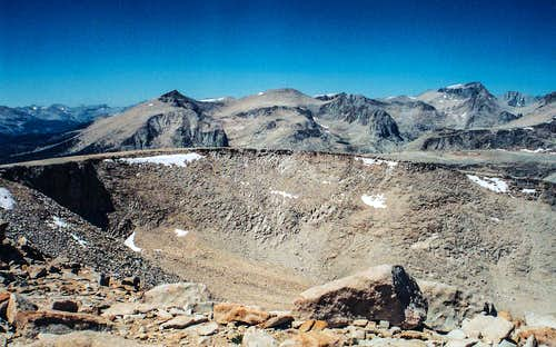 Whitney group from Cirque Peak