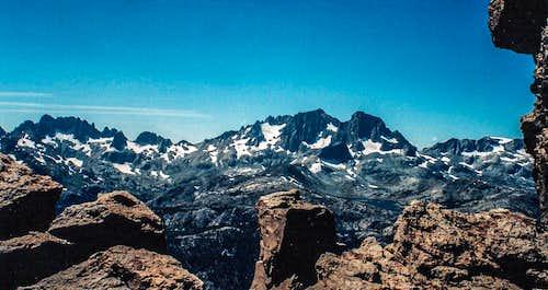 Ritter Range from San Joaquin Mountain