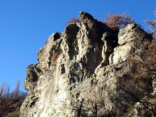 Death to Life / a Climbing nearby Vollein <i>