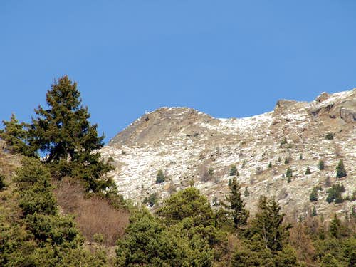 Tour above Crossing below Bca de Roisan <i>(2546m)</i> 2015