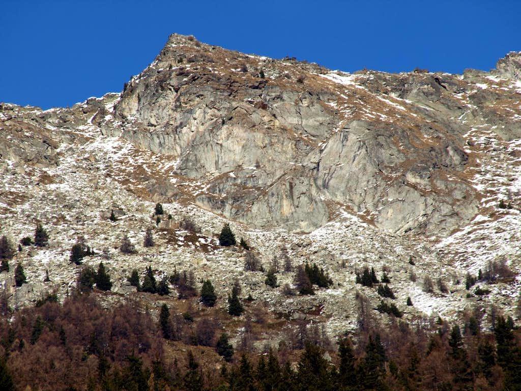 Tour above ... unknown Becca de Blavy <i>(2508m)</i> 2015