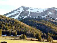 Olsen Peak from the Notch