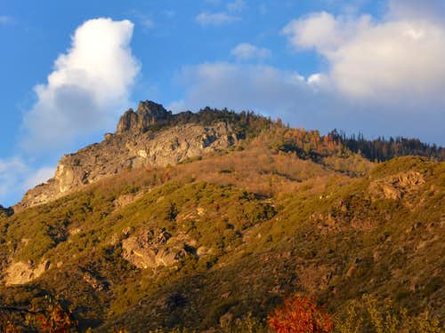 Dennison Peak from the East