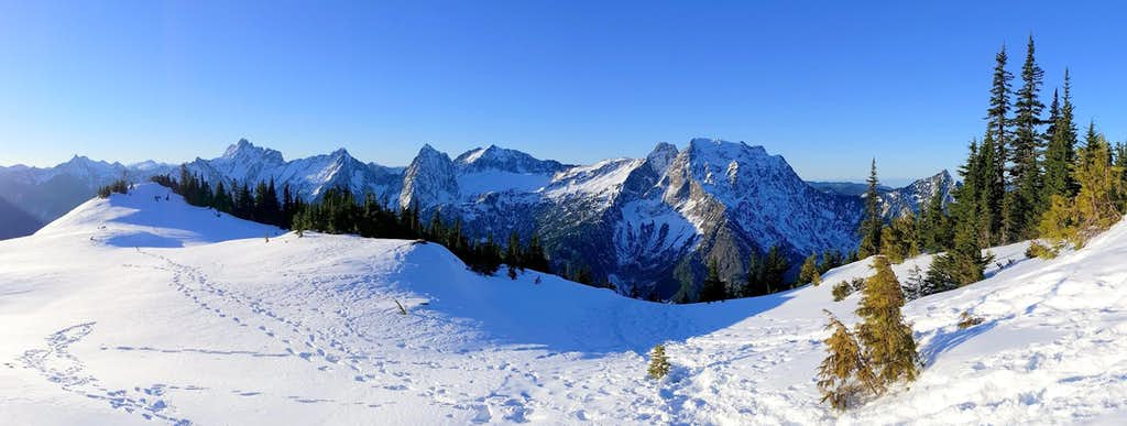 View from Mount Dickerman Meadows