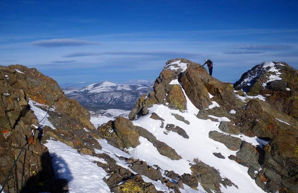 Round Top summit ridge