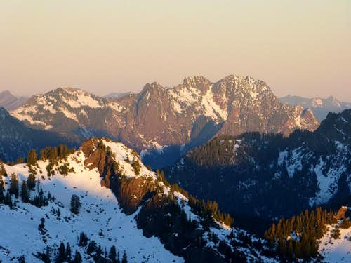 Jumbo Mountain from Dickerman