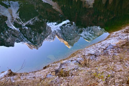Grosser Donnerkogel and other peaks of the Gosaukamm...
