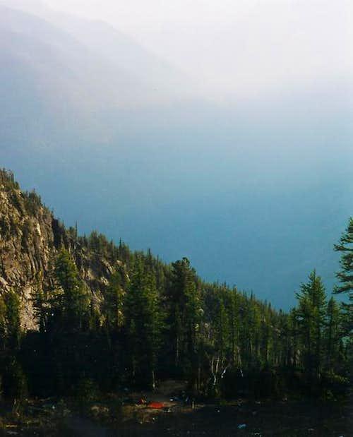 The Stehekin Valley engulfed...