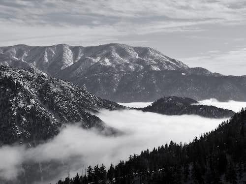 San Bernardino East and San Bernardino Peaks
