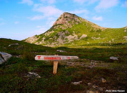 Dronningruta signpost above Nyksund