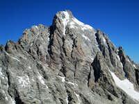 The Grand Teton seen from the summit of Cloudveil Dome, Teton Range, WY