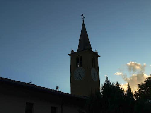 Dark Profiles Valtournanche 1412 & 1855 Church 2015