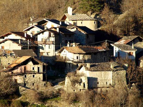 around four ... Parléaz or Parleyaz ancient Village 2015