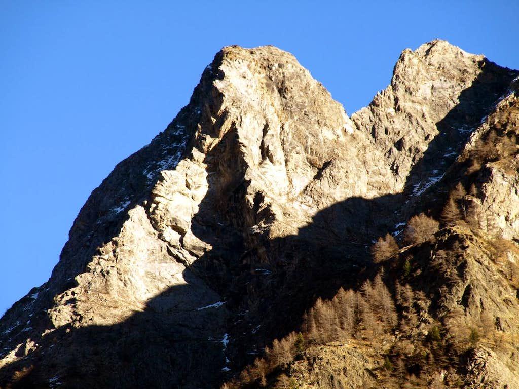 Gran Becca & Pointe du Bachà just above Bionaz 2015