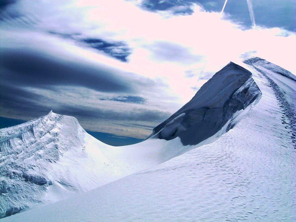 Ludwigshöhe summit ridge