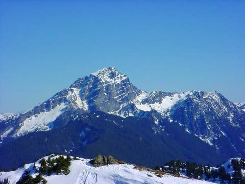 West face of Sloan Peak from...