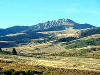 Sawtooth Mountain, Snowcrest Range, Montana