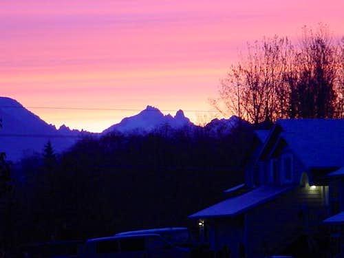 Sunrise on Gunnshy(Pk. 6218)...
