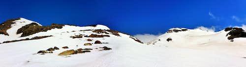 Ruapehu - Dome Ridge and Paretetaitonga