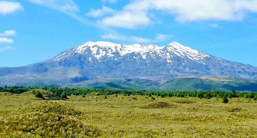 Ruapehu - Whakapapa side