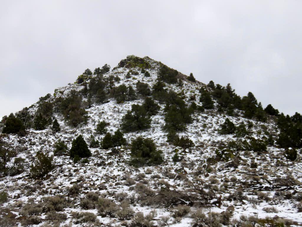 North face of Kate Peak