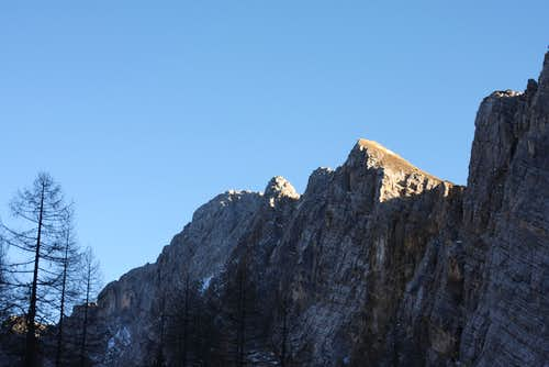 North face of Mali Draski vrh